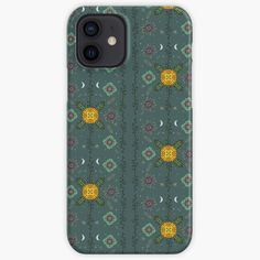 Floral Iphone Case, Iphone Case Covers, Protective Cases, Cover Design, Witch, Smile, Printed, Awesome, Green