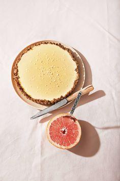 Alison Roman's sweet and salty cream cheese tart