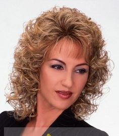 Related short haircutsshort hairstyles over 50 Sharon Stone Chic Short Bob Hairstyles and Haircuts for Women in Modern bob haircuts. Curly Hair With Bangs, Curly Hair Cuts, Wavy Hair, Short Hair Cuts, Curly Hair Styles, Curls Hair, Short Bob Hairstyles, Wig Hairstyles, Bob Haircuts