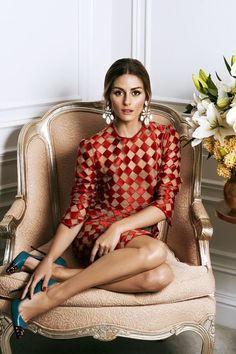 whitenoten: Olivia Palermo for Hello! Fashion Source: fierceandloveable Olivia Palermo for Hello! Style Olivia Palermo, Olivia Palermo Lookbook, Fashion Mode, Look Fashion, Fashion Outfits, Fashion Edgy, Fashion Weeks, Milan Fashion, Sneakers Fashion