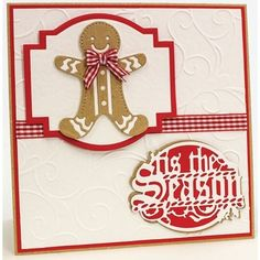 tonic studios gingerbread man die - Google Search