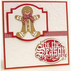 Tonic Studios Christmas Rococo Gingerbread Man Die Set 2
