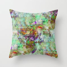 Conclusion Throw Pillow by Sandy Moulder - $20.00