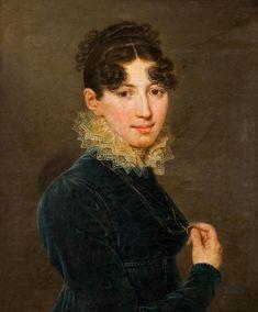 "Giovanni Battista Lampi ""Portrait of Lady""  Lodz, National Museum"