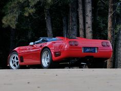 Callaway C4 Twin Turbo Corvette ZR1 Super Speedster (B2K) '1990