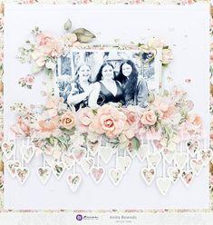 Prima Flowers - Prima Marketing Inc Scrapbook Paper Crafts, Scrapbook Albums, Scrapbook Supplies, Scrapbooking Layouts, Scrapbook Cards, Paper Crafting, Flowers Today, Most Beautiful Flowers, Wedding Scrapbook