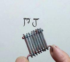 Miniature rusty radiator