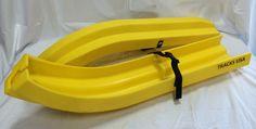 Yellow Ski-Boot