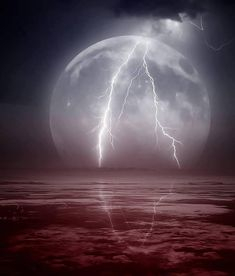moon lightning...awesome..el