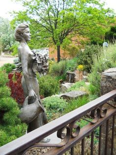 Woman in Garden, Canyon Road, Santa Fe NM One of my favorite gardens here! Outdoor Sculpture, Garden Sculpture, Vacation Photo, Santa Fe Nm, Canyon Road, Southwestern Style, Monuments, New Mexico, Enchanted