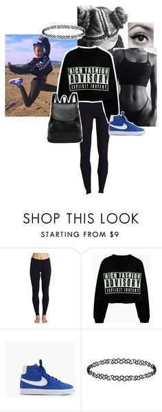 """""""Skai Jackson Look Alike pt.2"""" by mer-the-great ❤ liked on Polyvore featuring Beyond Yoga, J.Crew, Dorothy Perkins, black, blackandwhite and polyvorefashion"""