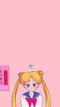 Got sent out the hall again Usagi-chan XD