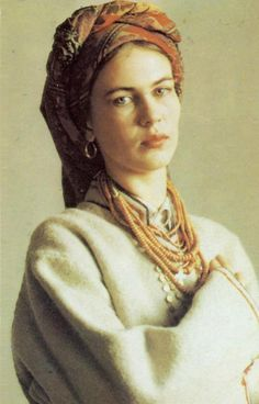 Girl from Volhynia, beginning of the 20th century.