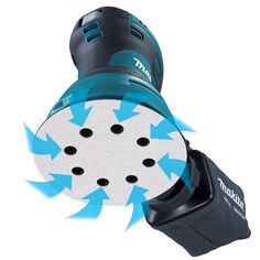 Makita Random Orbit Sander >>> Learn more evaluations of the item by checking out the link on the photo. (This is an affiliate link). Best Random Orbital Sander, Wall Racks, Makita, Power Tools, Woodworking Tools, Wood Wall, Dust Bag, Teal, Pallets