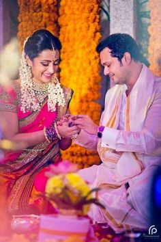 As updated earlier, Trisha Krishnan got engaged to his long time boy friend entrepreneur Varun Manian today. The event was a private one and the close family members attended the function and bless. Tamil Wedding, Desi Wedding, Wedding Pics, Wedding Attire, Wedding Outfits, Wedding Couples, Saree Wedding, Wedding Wear, Wedding Bells