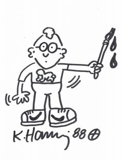 Happy birthday Keith Haring (RIP)