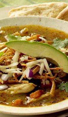 Tex-Mex Chicken Tortilla #Soup Recipe