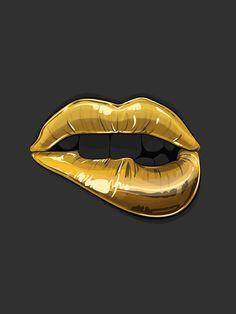 Golden Mouth / Goldie - Gaks Designs