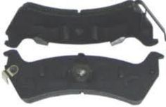 Rear Brake Pads, Set; 97-06 Jeep Wrangler TJ