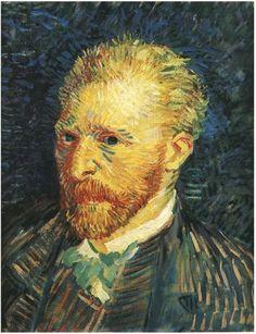 Vincent van Gogh Self-Portrait Painting