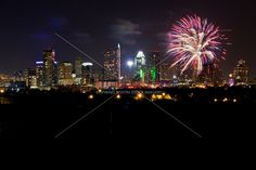 austin 4th of july fireworks downtown