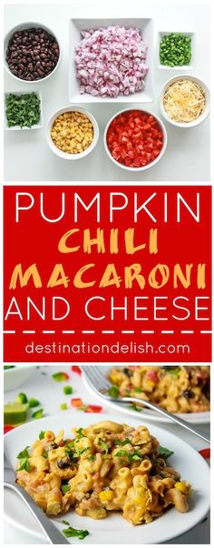 pumpkin chili macaroni and cheese pumpkin chili macaroni and cheese ...