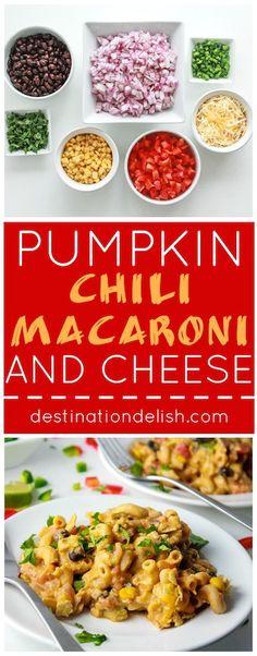 pumpkin chili macaroni and cheese pumpkin chili macaroni and cheese ...