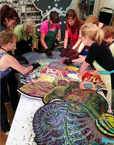 Group grouting of Flower #1 - UNFURLED | Explore Lin Schorr'… | Flickr - Photo Sharing!