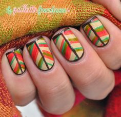 #nail #nails #nailart #lapaillettefrondeuse #autumn #fall