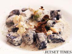 Gnocchi Istria with Black Truffles and Shrimp. PHOTO Wendy Hung