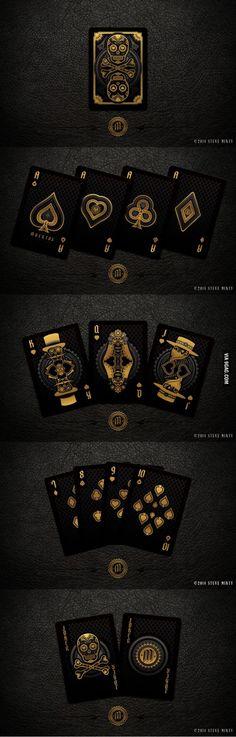 Playing Cards: Muertos par Steve Minty