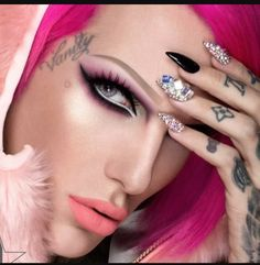 AP ALTERNATIVE PRESS Jeffree Star Signed Poster ! Rare /& Sold Out Quick
