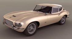 Jaguar Series 1 XKE 4.2 Coupe, 1966, designed by Raymond Loewy.