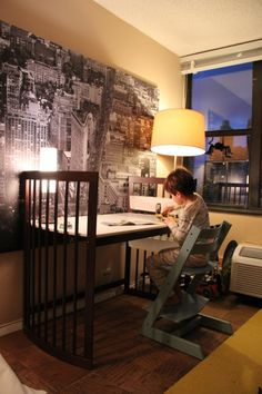 DYK? Stokke Care Changing Table converts into a desk down the road! Sustainable design at it's finest <3