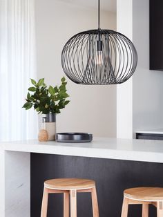 The Beacon Lighting Pheonix 1 light wire pendant in black - All For Decoration Wire Pendant Light, Black Pendant Light, Pendant Lighting, Beacon Lighting, Rustic Lighting, Club Lighting, Hallway Lighting, Ceiling Lighting, Kitchen Lighting