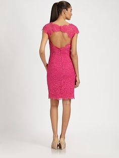 Hot Pink and Lace. Love the lace, but the color should be something else for me...