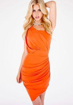 CelebBoutique 'Kara' Drape Jersey Bodycon Dress on shopstyle.com.au