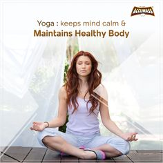 👉 Practice yoga to keep your mind calm and to maintain a healthy body. ➡️Comment the Yogasana which you love to do and stay tuned with Accumass for more informative facts like this. ➡️Don't forget to tag and share this post with others too. Weight Gain Workout, Weight Gain Supplements, Practice Yoga, Perfect Body, Stay Tuned, Don't Forget, Health Tips, Muscle, Mindfulness