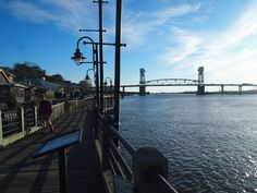 Wilmington - North Carolina. One tree hill pier