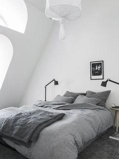 Bedroom under the rooftop