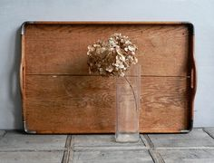 VINTAGE ///// Wooden Tray
