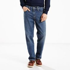 Levi's 550 Relaxed Fit Stretch Jeans - Men's 35x30