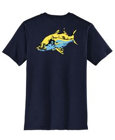 Snook T-shirts by Reel Fishy Apparel