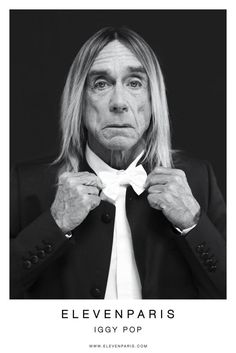 Eleven Paris Fall 2012 Ad Campaign  Iggy Pop Star photographed by Mathieu César