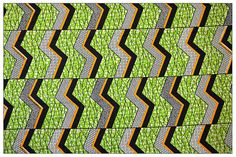 African Block Wax Print Fabrics 100%Cotton Sold by KitengeTextiles