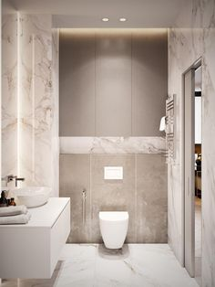 Home Design Under 60 Square Meters: 3 Examples That Incorporate Luxury In Small . - Home Design Under 60 Square Meters: 3 Examples That Incorporate Luxury In Small Spaces - Home Design, Luxury Interior Design, Design Ideas, Interior Modern, Design Fails, Luxury Master Bathrooms, Cheap Bathrooms, Master Baths, Small Bathrooms