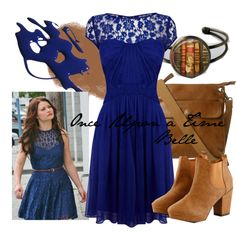 """""""Once Upon a Time Belle"""" by amarie104 on Polyvore"""