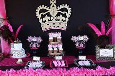Leopard Princess Birthday Party