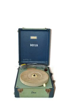 Vintage Decca Record Player  33  45  78  Featured in by Relic189, $38.00