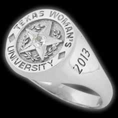 College Rings for Texas Woman's University by Herff Jones #HJClassRing